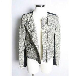 Rebecca Minkoff Cropped Tweed Jacket